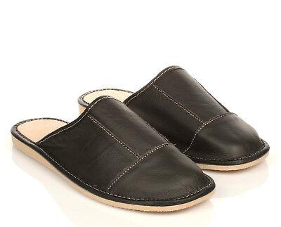 buy popular c5e82 e490b Elegante-Herren-Leder-HausSchuhe-Felix-schwarz-Pantoffeln-Latschen- 1.jpg