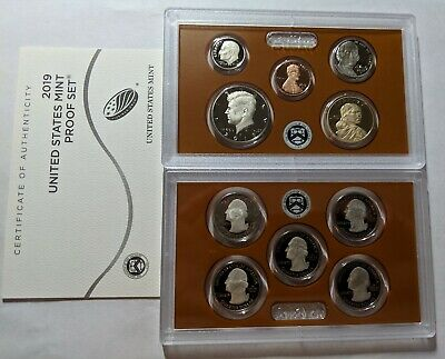 2019 S US Mint Proof Set - In Stock - 10 Coins                  No Extra W Cent 2
