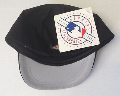 2 of 3 NWT MLB Baltimore Orioles Twins Vintage Infant Elasticback Black Cap  Hat NEW! eb36d666a47