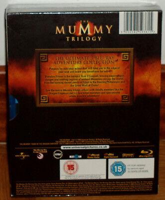 Trilogia La Momia 3 Blu-Ray Nuevo Precintado Aventuras Español (Sin Abrir) R2 2