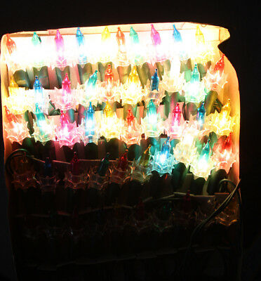 90s Christmas Lights.Rare Vintage 90 S Christmas 50 Miniature Tree Lights Indoor New Nos