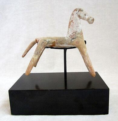 ANCIENT GREEK GEOMETRIC TERRACOTTA HORSE - 8th Century BC 6