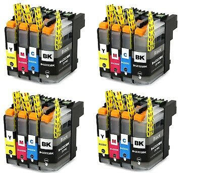 Cartuchos de Tinta Compatibles Non Oem para Brother LC223 LC-223 LC 223 XL LC221 2