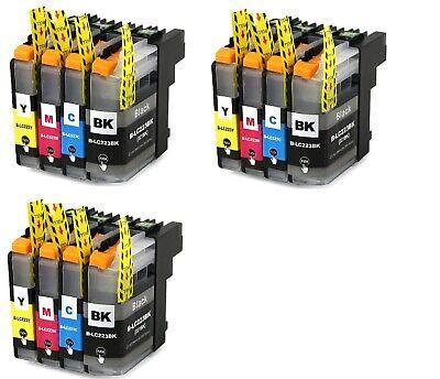 Cartuchos de Tinta Compatibles Non Oem para Brother LC223 LC-223 LC 223 XL LC221 4