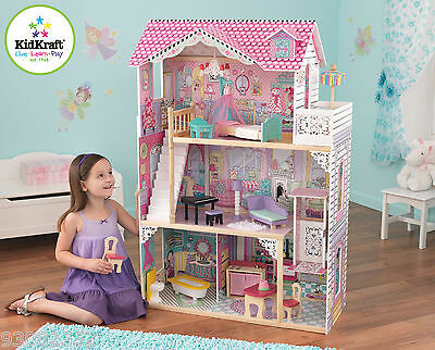 Annabelle Dollhouse by Kidkraft - Wooden Doll House ~ideal for Barbie Dolls 3