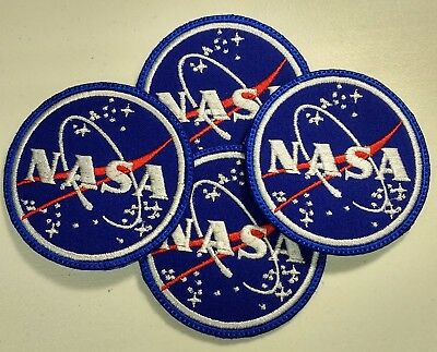 **Love It Or Its Free** Nasa Embroidered Patch, Iron On, Free Shipping 2