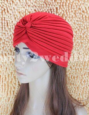 Ladies Stretch Headcover Head Wrap Beanie Chemo Bandana Animal Print Hat Turban 8
