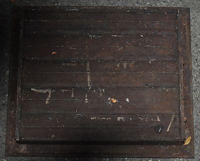 Vintage Floor / Wall Heat Register Metal Vent  Antique Grate 8