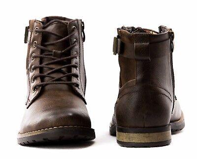 Stivali Stivaletti Scarpe Uomo Pelle PU Polacchini Anfibi Sneakers Camperos S96