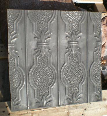 SALE! Antique Victorian Ceiling Tin Tile Pie Cupboard Cabinet Doors Cottage Chic 6