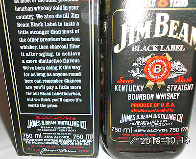 Jim Beam Black Label 8 Year 750ml 90 Proof -Not Rare- IMPOSSIBLE!!!!!! 2