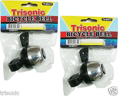 2Pcs Mini Bicycle Bike Cycling Handlebar Bell Horn Ring Alarm High Quality New