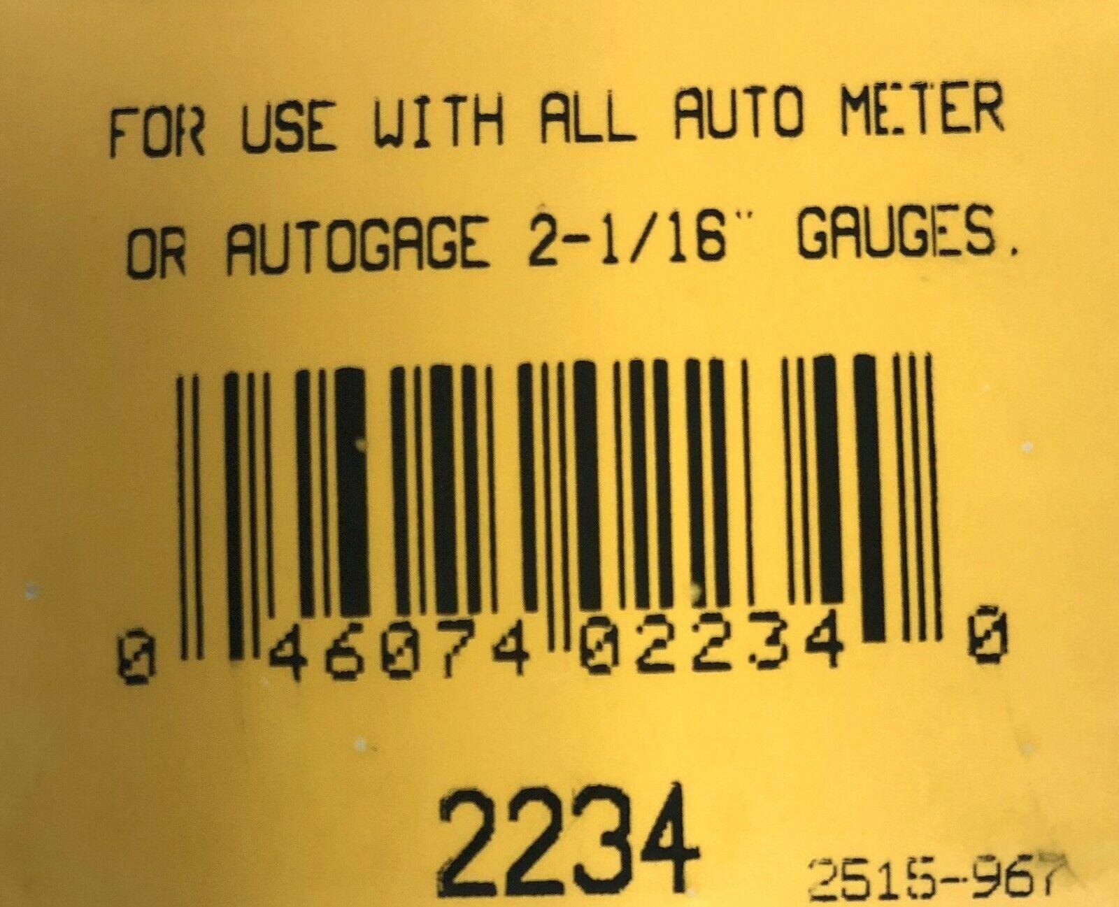 """3 PCS. BLACK Autometer 2234 GAUGE MOUNT FOR 2 1//16/"""" GAUGES ANGLE RINGS"""