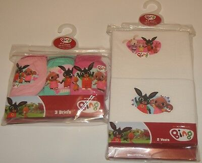 Girls Multi-packs of Character BRIEFS/KNICKERS and/or VESTS - Sizes 18M - 10 Yrs 9