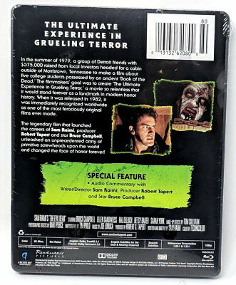The Evil Dead (Blu-ray Disc, 2014) Limited Edition Steelbook BRAND NEW 2