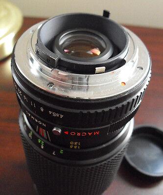 VINTAGE COMMANDER MC Auto Zoom Macro Camera Lens 1:4 5 80-200mm No 890195