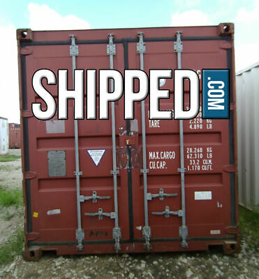 ON SALE! USED WWT 40FT HIGH CUBE SHIPPING CONTAINER HOME STORAGE in DALLAS TEXAS 7