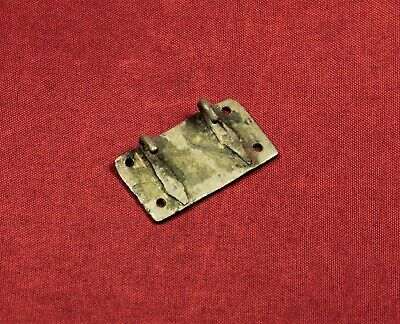 Medieval Teuton Knight's Silver Mantle Buckle, 13. Century 3