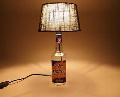Jim Beam Honey - Flaschenlampe Tischlampe LED 220V mit Schalter ORIGINELL S1h 5