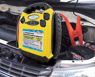 Jump Start 12v 900 Amp Portable Power Pack Station Battery Booster Starter #2 3