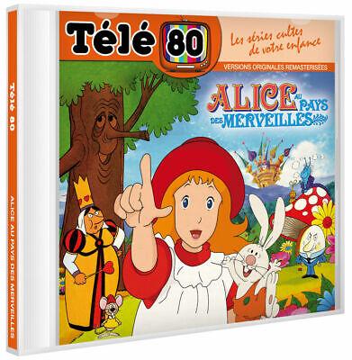 pack 2 cd TELE 80 : DENVER LE  DERNIER DINOSAURE / ALICE AU PAYS DES MERVEILLES 3