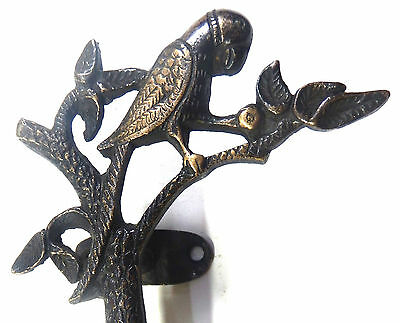 Parrot Bird Design Handmade Brass Antique Vintage Style Door Handle//Door Pull P2