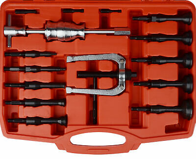 New 16 PC Piece Bearing Extractor Set Inner Internal Blind Remover Bushes Puller 3