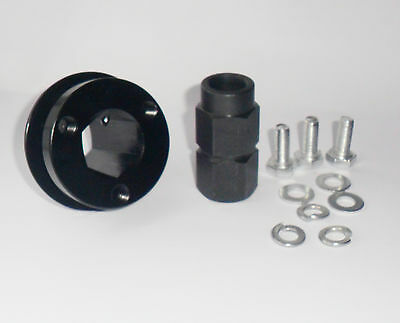 """PRECISION QUICK RELEASE STEERING WHEEL HUB WELD ON BOSS KIT PUSH ON BUTTON 3//4/"""""""