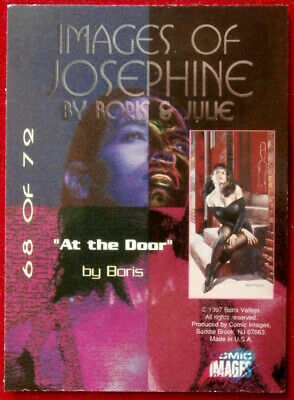 IMAGES OF JOSEPHINE - Individual Card #68 - AT THE DOOR - Boris Vallejo 2