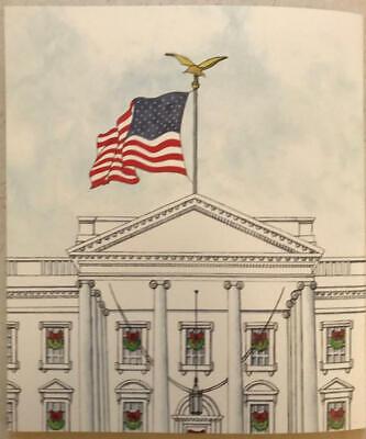 2019 White House Christmas Holidays Tour Book Program Donald Melania Trump POTUS 10