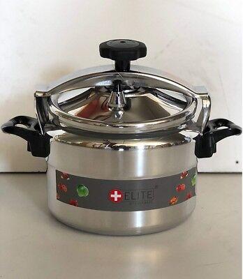 Olla de presión 7 Lts litros rápida para cocina gas o vitro cerámica elite 7