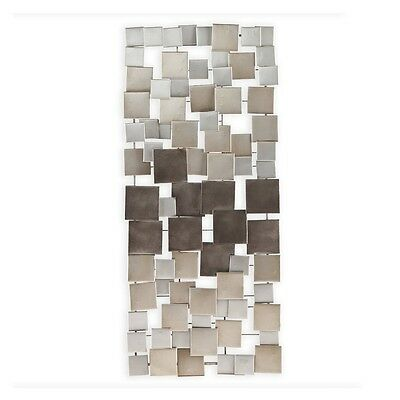 ... Large Metal Sculpture Abstract Modern Silver Wall Art Contemporary  Modern Decor