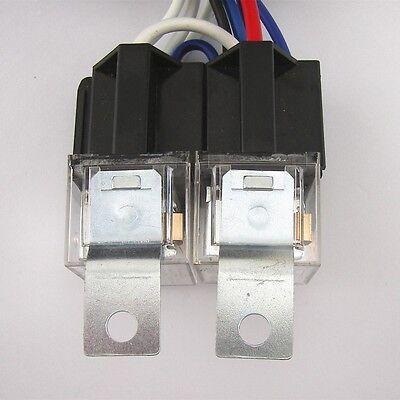 H4 H6054ST HEADLIGHT Relay Wiring Harness 4 Headlamp Light