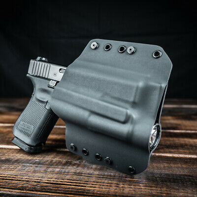 PUNISHER GREEN /& TAN OWB Kydex Holster for Hanguns with OLIGHT PL-1 II VALKYRIE