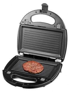 Laptronix 3 In 1 Sandwich Grill Waffle Maker Non-Stick Toaster Panini Press 750w 4