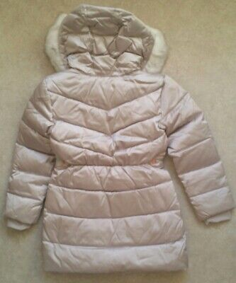 Baker by Ted BakerGirls' Ivory Padded Shower Resistant Coat Age 12 Years 7
