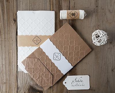10 Geschenktüten mit PALAST Prägung Papiertüten Kraftpapier Tüten 11x17,5 cm 2