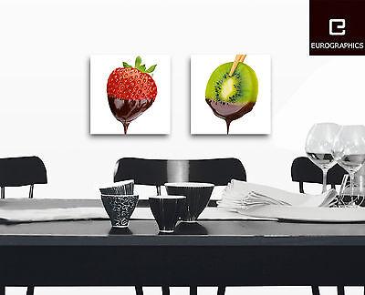 Glasbilder Deko Wand Bild Deco Float Glas Bild Frucht Obst Gemüse