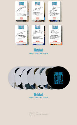 NCT DREAM RELOAD 4th Mini Album CD+POSTER+Book+F.Poster(On)+2Card+GIFT 11