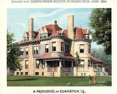 Evanston, Ill.  -   Scientific American Architects and Builders Edition - 1894 2