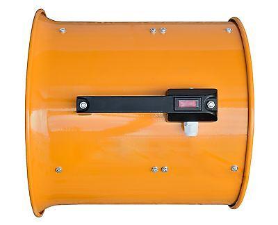 "110V Dust Fume Extractor/Ventilation Fan 10"" (250Mm) 5"
