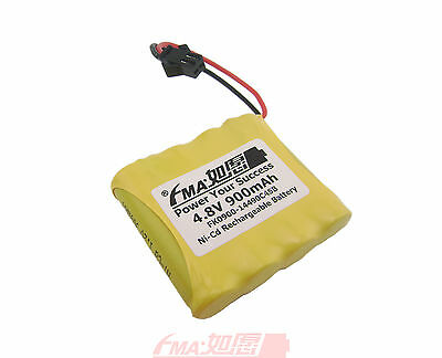 2 Of 3 Ni Cd AA 48V 900mAh Battery For Radios Model Toys RC Car W