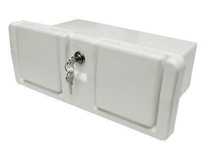 Handschuhfach Staufach abschließbar 2 Becherhalter Stauraum Staukasten glove box 2