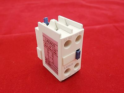 1PC Auxiliary Contact Block Fits LADN31 3NO//1NC USE FOR LC1D NEW TYPE CONTACTOR