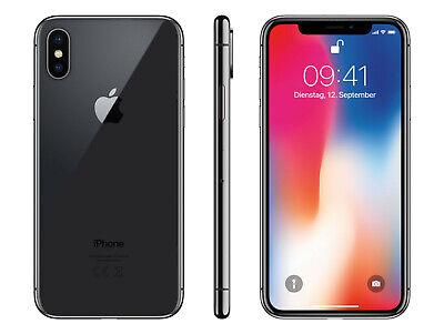 Apple iPhone X (IPhone 10) 64GB Grey Silver -All Grades - Unlocked- 12M Warranty 10