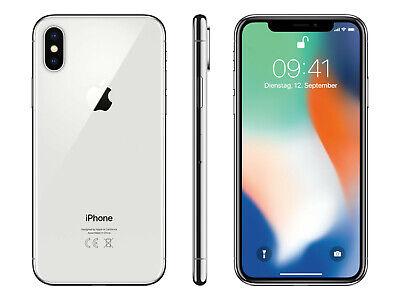 Apple iPhone X (IPhone 10) 64GB Grey Silver -All Grades - Unlocked- 12M Warranty 11