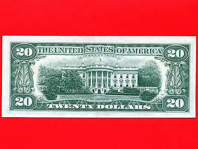 """1969 United States 20 Dollar Federal Reserve Bank Note """" Boston """""""