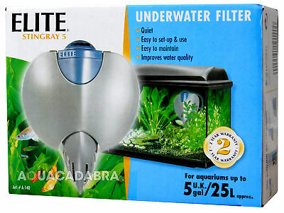 Elite Stingray 5 Fish Tank Pump Internal Filter