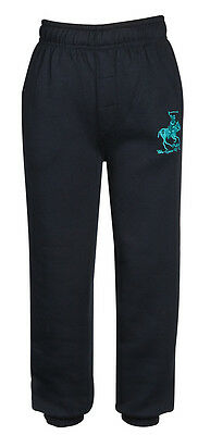 Boys Girls Joggers Jogging Pants Fleece Tracksuit Bottoms PE School Kids Sizes 6