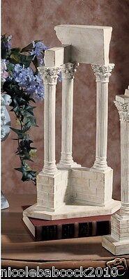 Set Of 2 Ancient Roman Excivated European Column Artifact Sculptures 4